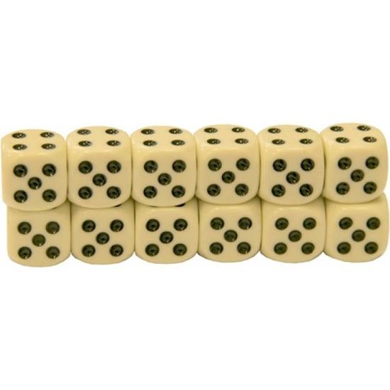 12x dobbelstenen van 1 2 cm